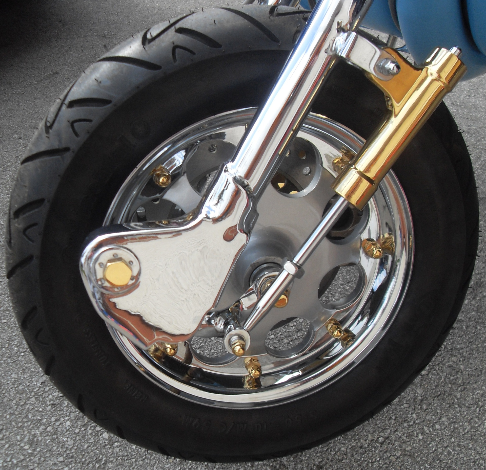 Gold plated dampers